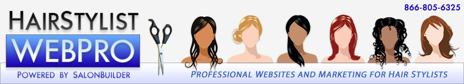Website Design, Web Development and Marketing for Hairstylists